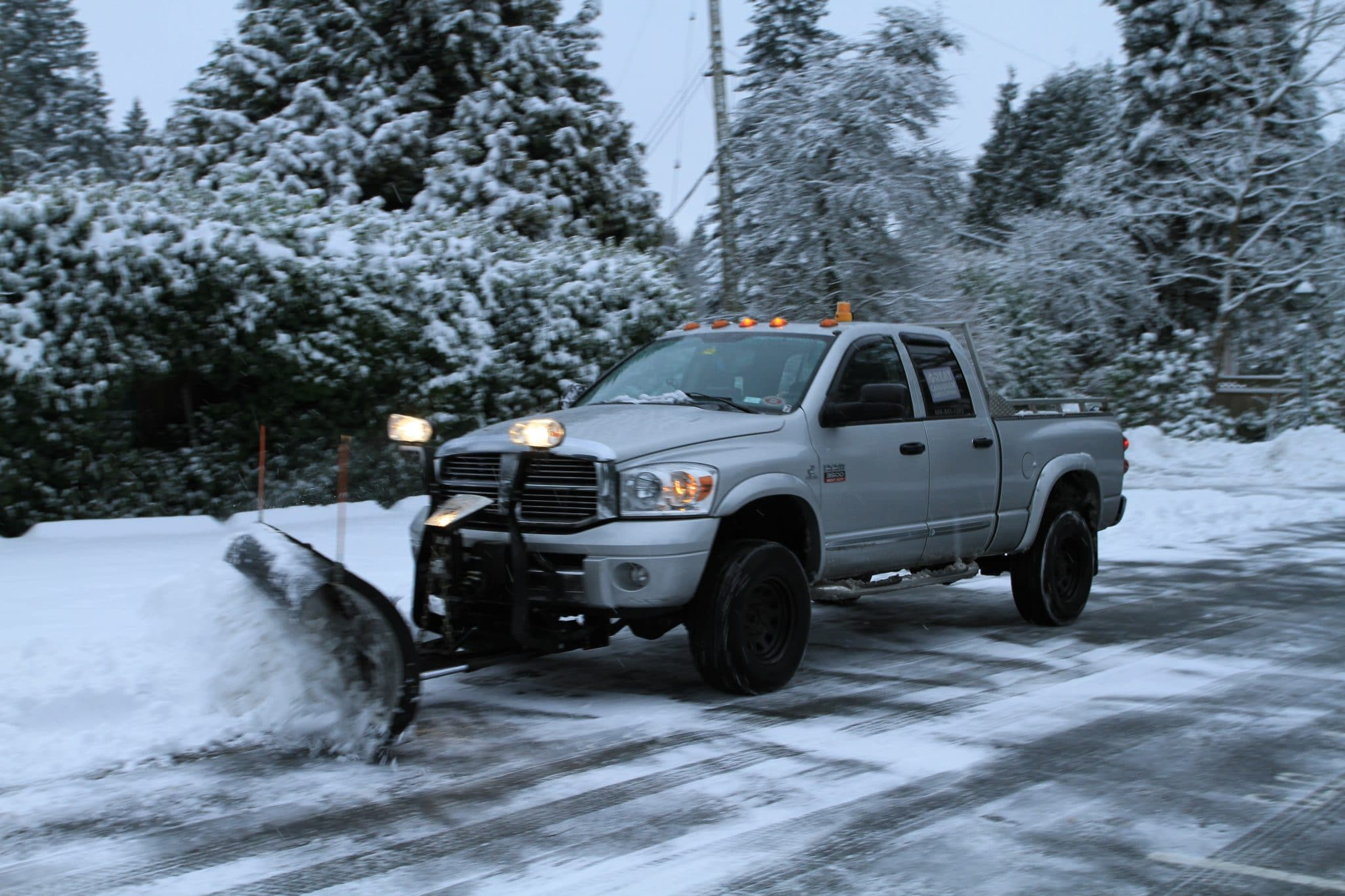 Snow Clearing and De-Icing Services