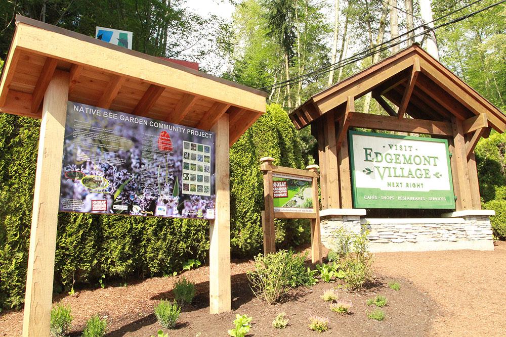 Edgemont Village Bee Friendly Garden optimized