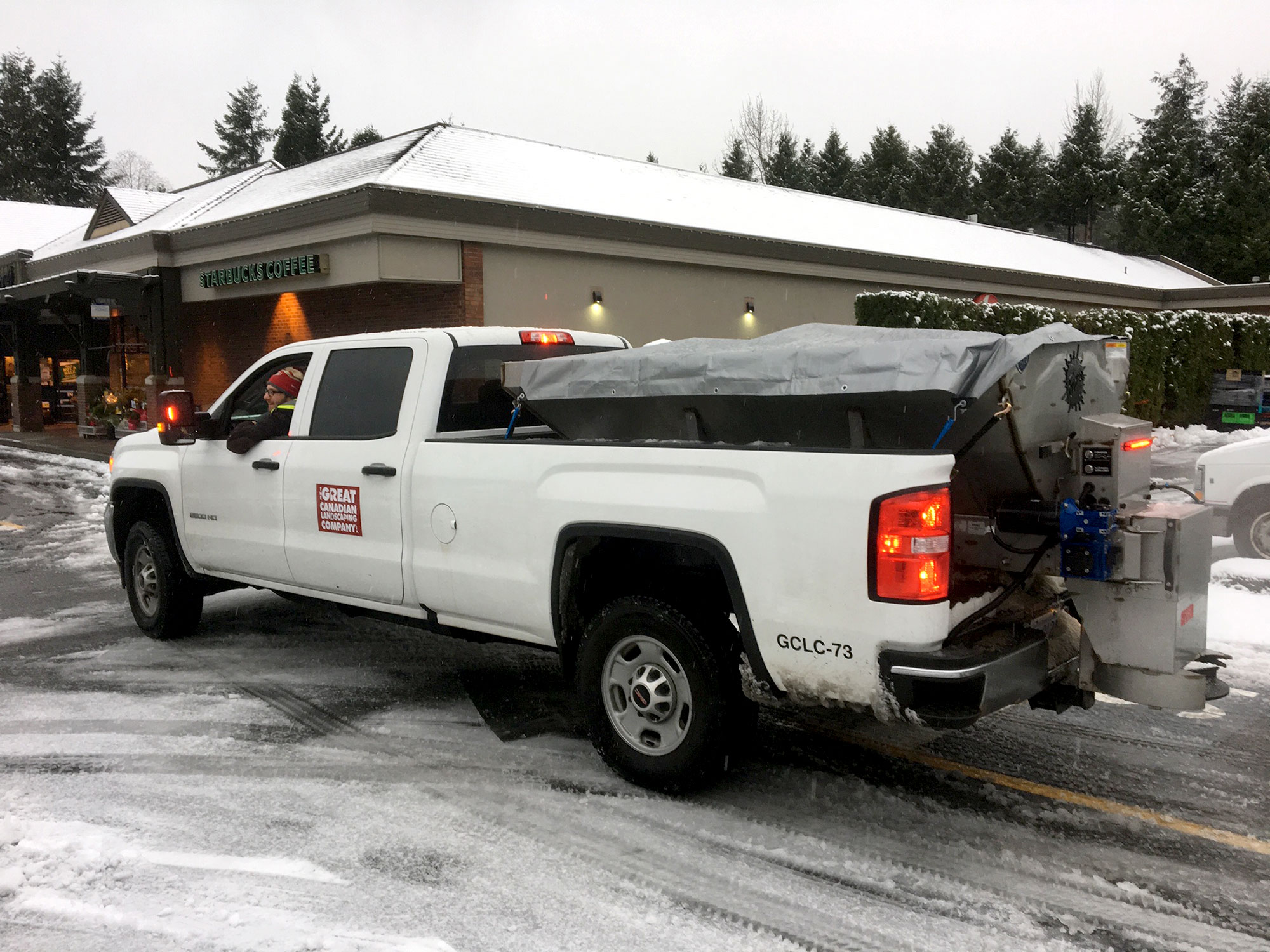 Snow and Ice Management Services GCLC Truck With Deicing Brine optimized