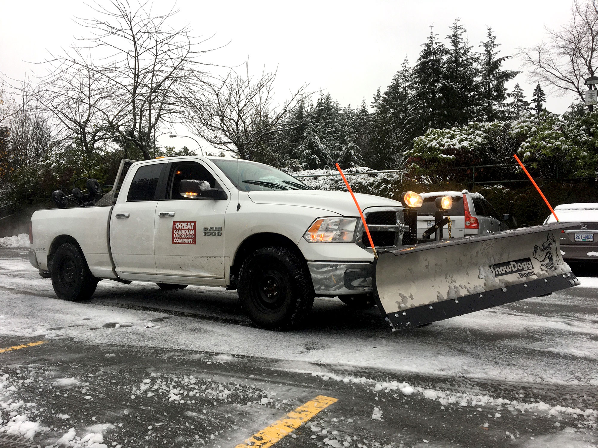 Snow and Ice Management Services GCLC Truck With Plow optimized