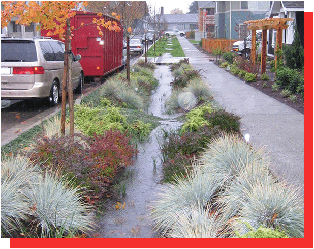 Bioswales Water Features GCLC