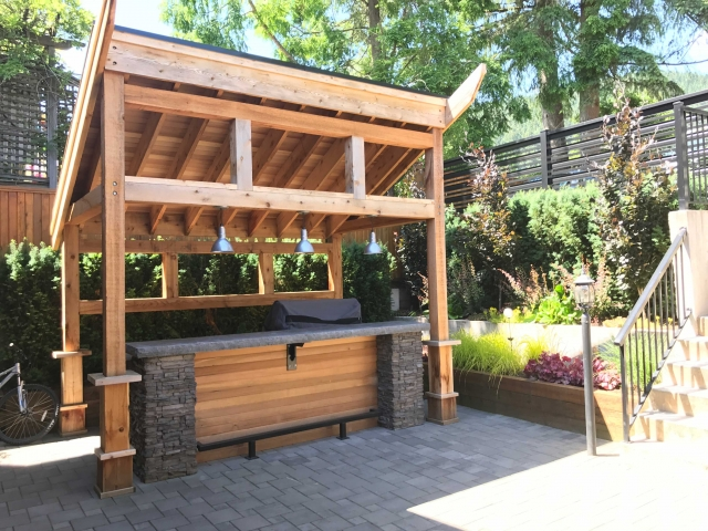 Carpentry Outdoor Kitchen Gallery