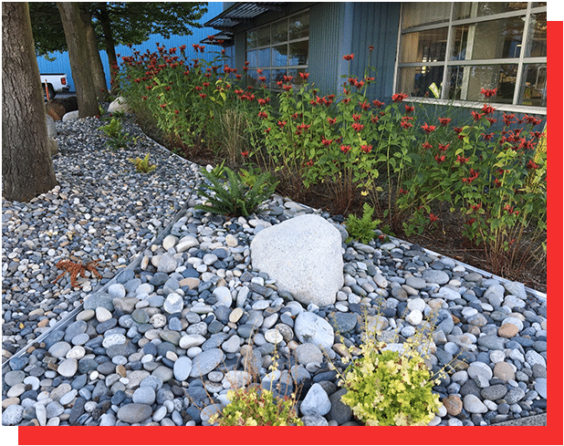 Dry Riverbeds Water Features GCLC