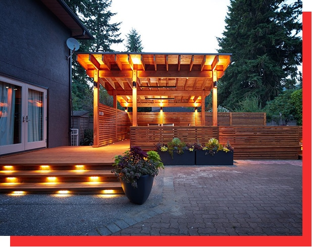 Lighting Deck and Patio